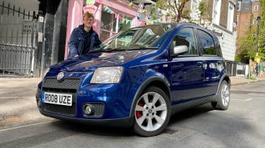 Auto Express: our cars - Fiat Panda 100HP