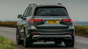 Mercedes GLS - rear action