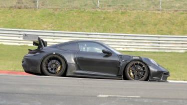 Porsche 911 GT3 RS spy 2021 - side