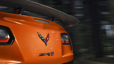 Chevrolet Corvette ZR1 Sebring Orange rear