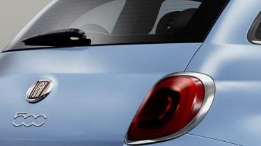 Fiat 500 2016 rear lights