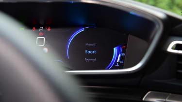 Peugeot 508 SW - drive mode