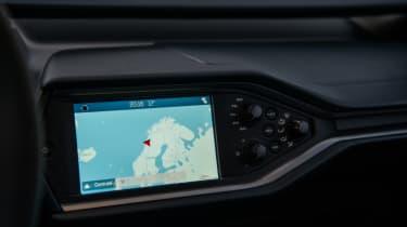 Ford GT Norway road trip - sat-nav
