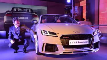 Audi TT RS 2016 - reveal front