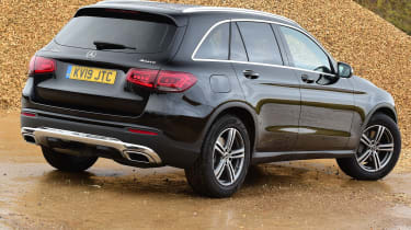 Mercedes GLC 220 d  - rear 3/4 static