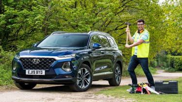 Hyundai Santa Fe - long-term first report header