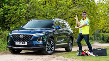 Hyundai Santa Fe - long-term first report header