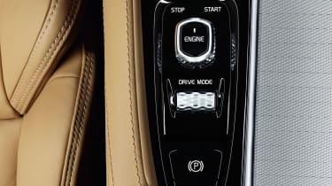 Volvo XC90 interior detail