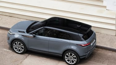New Range Rover Evoque - above