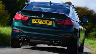 Alpina B4 S Coupe - rear