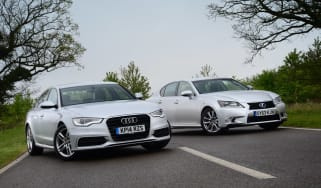 Audi A6 Ultra vs Lexus 300h