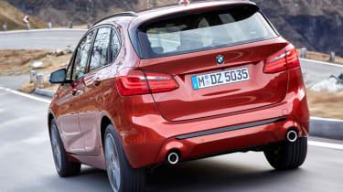 BMW 2 Series Active Tourer rear orange
