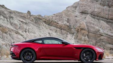 Aston Martin DBS Superleggera - side static