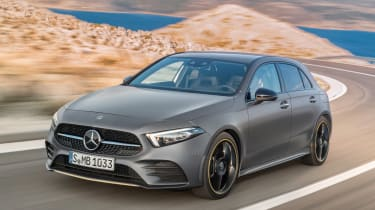 New Mercedes A-Class - front action