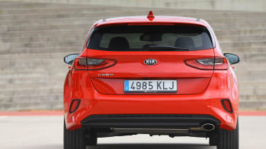 Kia Ceed - full rear
