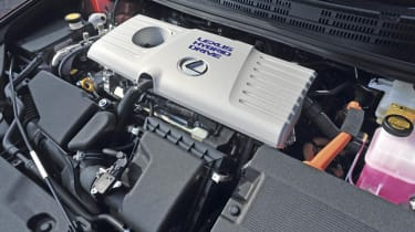 Lexus CT200h engine