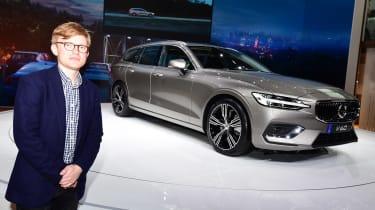 2018 Geneva Motor Show stars - Volvo V60 James Brodie
