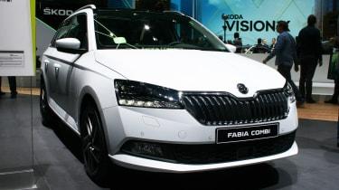 Skoda Fabia Combi facelift - Geneva front