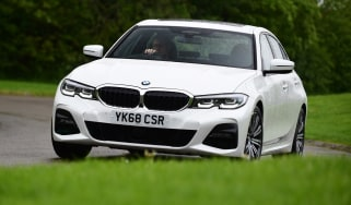 BMW 3 Series long termer - first report front action