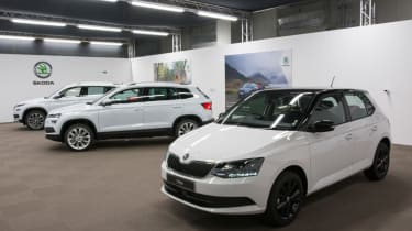 Skoda Karoq live tour group