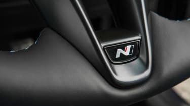 Hyundai i30 N - steering wheel close-up
