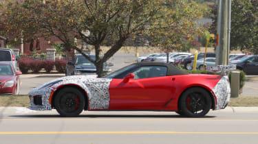 Corvette ZR1 side