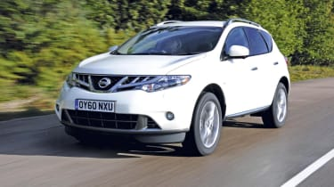 The Murano now comes equipped with a 2.5-litre diesel engine, which produces 187bhp.