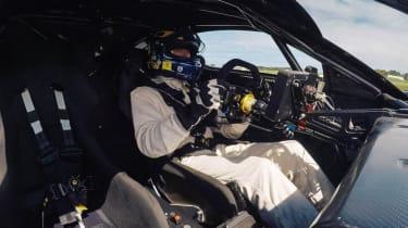 Brabham BT62 interior racing