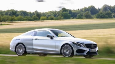 Mercedes C-Class Coupe 2016 side