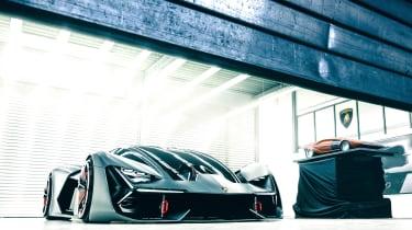 Lamborghini Terzo Millennio - front/side