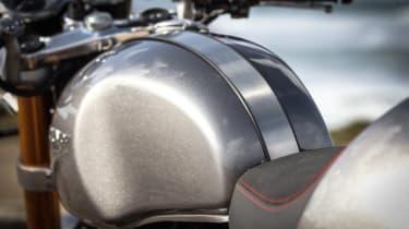 Triumph Thruxton R review - fuel tank rear