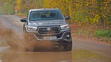 Toyota Hilux water splash