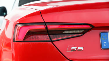 Audi S5 Cabriolet - rear detail
