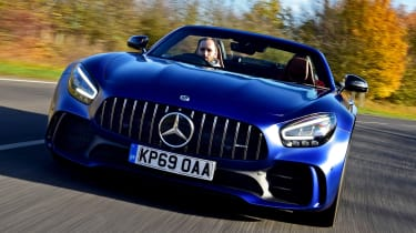 Mercedes-AMG GT R Roadster - full front
