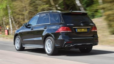 Used Mercedes GLE - rear action