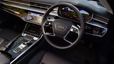 Audi A8 55 TFSI - cabin