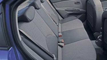 Kia Rio 1.5CRDi back seats