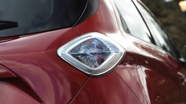 Renault ZOE - rear lights