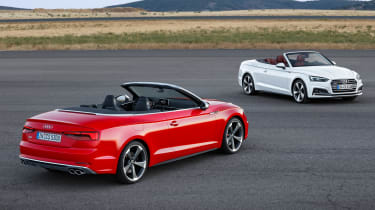 New Audi A5 Cabriolet 2017 twin