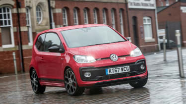 Volkswagen up! GTI - front cornering
