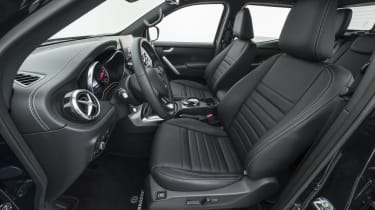 Brabus X-Class interior seats