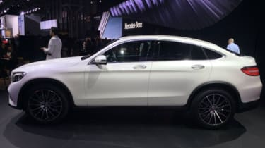 Mercedes GLC Coupe New York 2016 - side