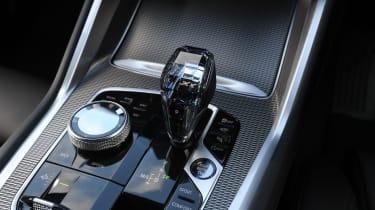 BMW X6 twin test - gear lever