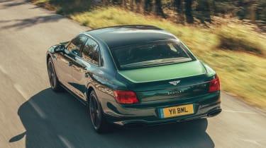 Bentley Flying Spur Verdant - Rear Tracking