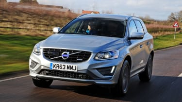 Volvo XC60 R-Design D4 2014 front tracking