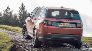Land Rover Discovery Sport off-road rear