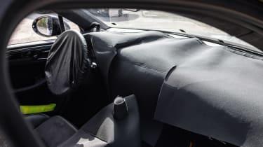 Porsche Macan prototype - interior