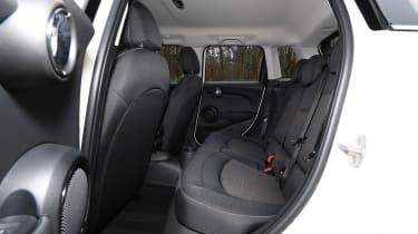 mini cooper classic 5-door rear seats legroom