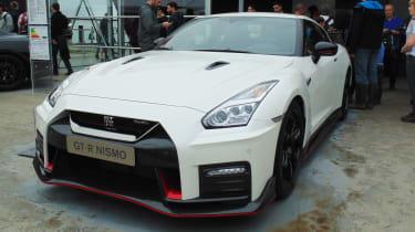 Nissan GT-R Nismo - goodwood front quarter