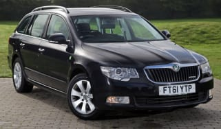 Used Skoda Superb review header
